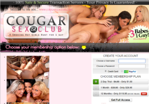 Quickie Cougarsexclub review